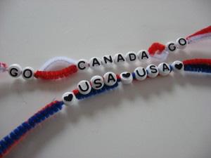 Alphabet bead bracelet