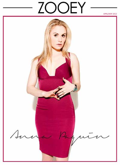 Anna Paquin on Zooey magazine