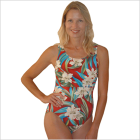 Nursing bathing suit