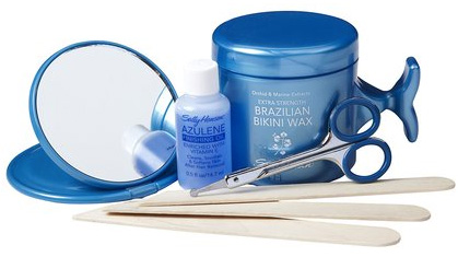 Sally Hansen Extra Strength Brazilian Bikini Waxing Shaping kit