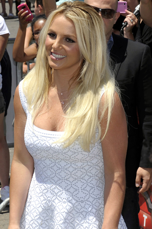 Britney Spears on The X Factor