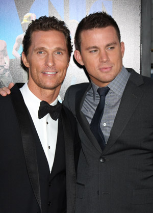 Channing Tatum responds to ex-stripper pals
