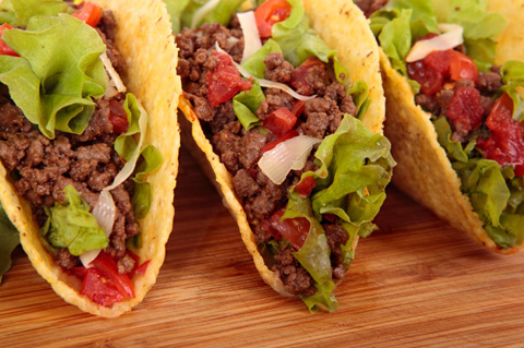 Healthy Lunch Makeovers Tacos