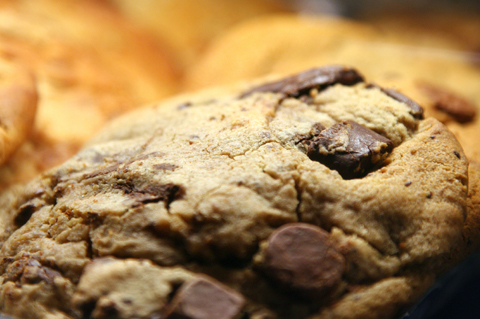 Jumbo chocolate chip coookies