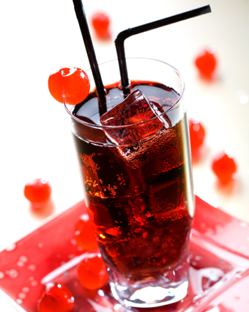 ... happy hour and dessert all in one with this homemade cherry liqueur