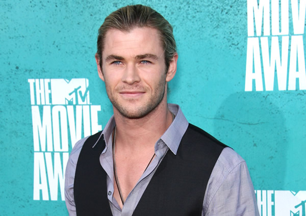Chris Hemsworth at the MTV Movie Awards