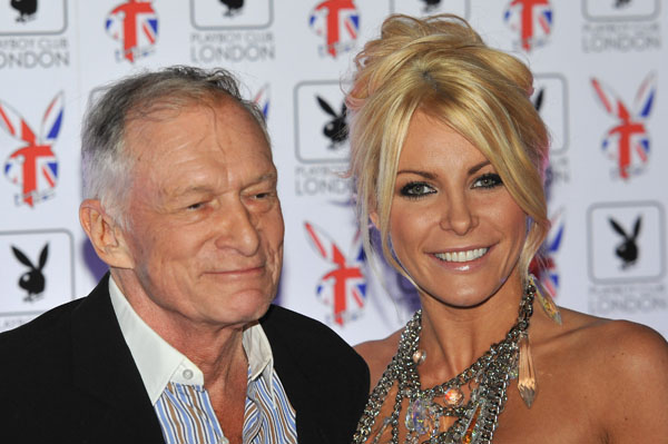 Crystal Harris moves back in with Hugh Hefner