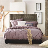 Textured bedding