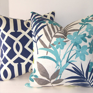 Bold pillows