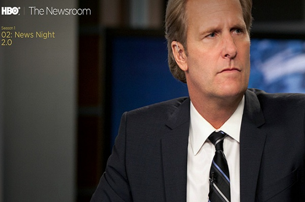 The Newsroom's lofty goal? Quality news matters