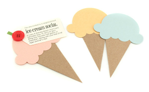 Etsy ice cream cone die cuts