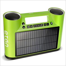 Eton's new Bluetooth enabled speaker system, Rukus