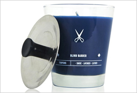 Blind Barber Tomkins Candle