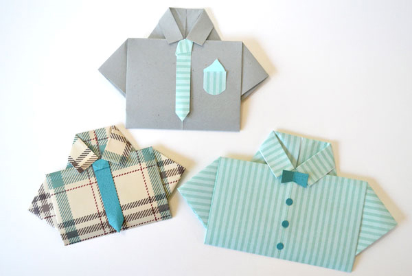 Cartões de Dia da camisa do pai