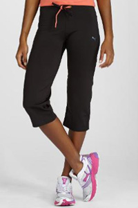 BodyTrain Fitted Capris (Puma, $60)