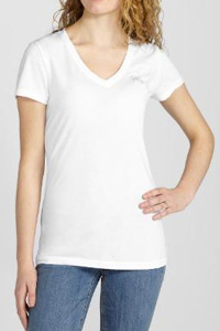 Heathered V-Neck Logo T-Shirt (Puma, $26)