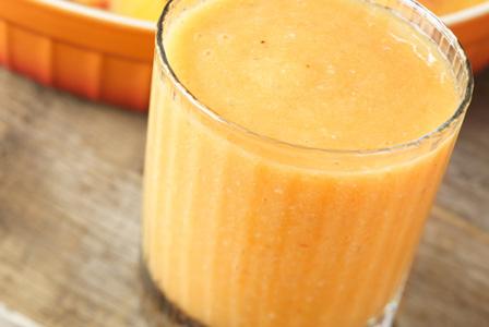 Cantaloupe-lemon shake