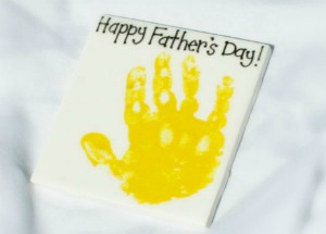 Handprint craft for Father's Day