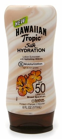 Hawaiian Tropic's Silk Hydration SPF 50