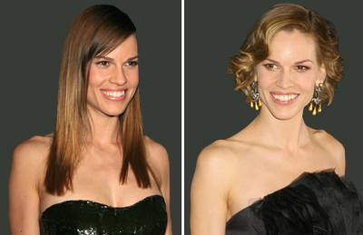 Hilary Swank before and after