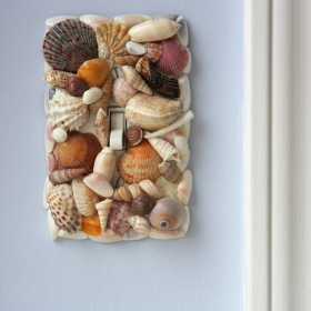 Seashell switchplate
