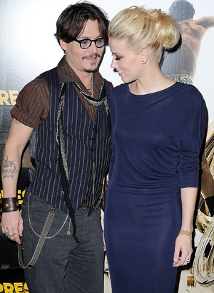 Amber Heard couple