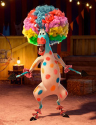 Marty Afro Circus from Madagascar 3