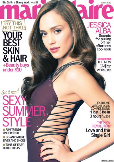 Jessica Alba Marie Claire June 2012