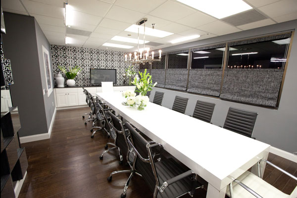 Kardashian conference room designed by Britany Simon & Mikel Welch