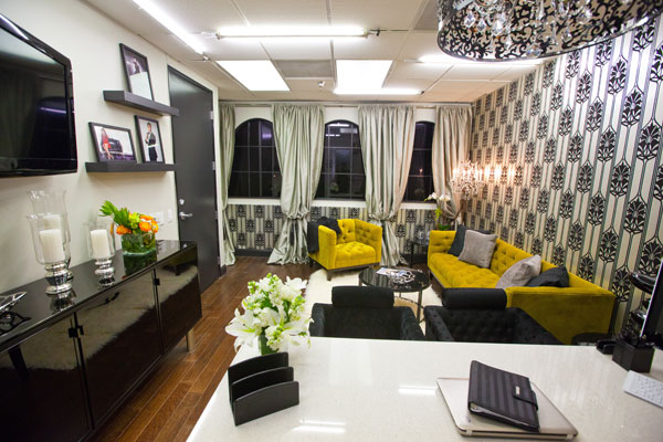 Kris Jenner's office designed by Rachel Kate & Stanley Palmieri