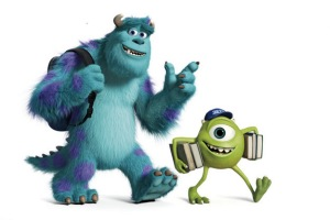 Back to school for Pixar's Sulley and Mike
