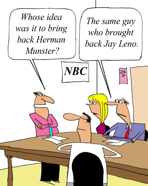 Munsters cartoon