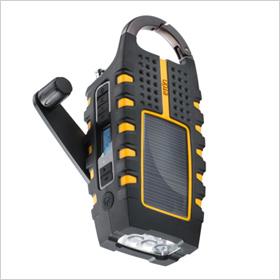 Eton Scorpion Solar Powered Digital Weather Radio