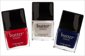 Butter London patriotic colors