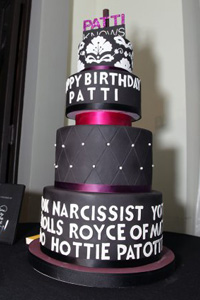 Patti Stanger's birthday cake