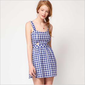 gingham frock 