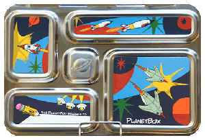 PlanetBox stainless steel lunchboxes