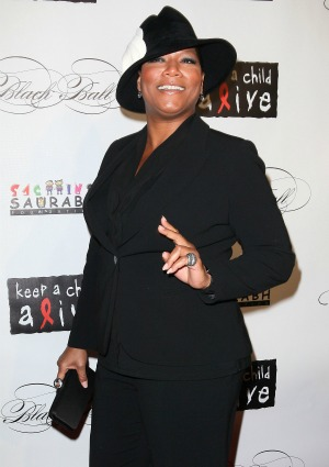 Queen Latifah is proud, but she's not out