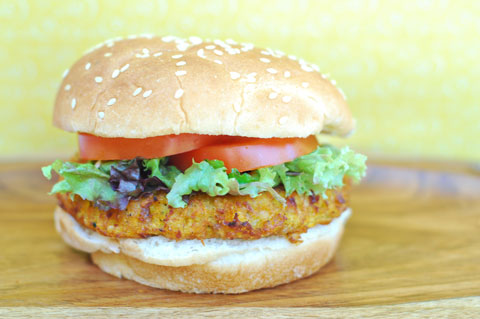 Quinoa sweet potato burger recipe