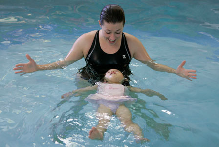 Make a splash with baby