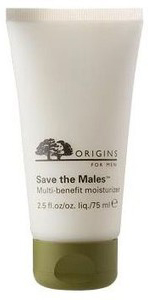 Origins for Men Save the Males Multi-benefit moisturizer ($35.00,