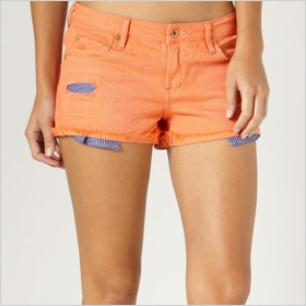 Coral shorts