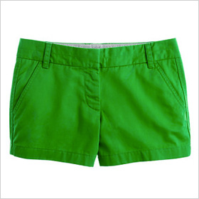 Green shorts