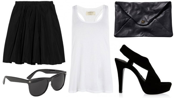 Black and white look for play