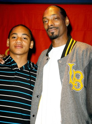 Snoop Dogg & son
