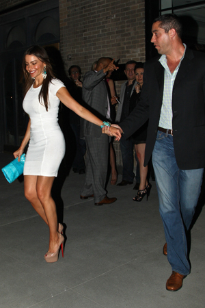 Sofia Vergara & Nick Loeb spotted in NYC
