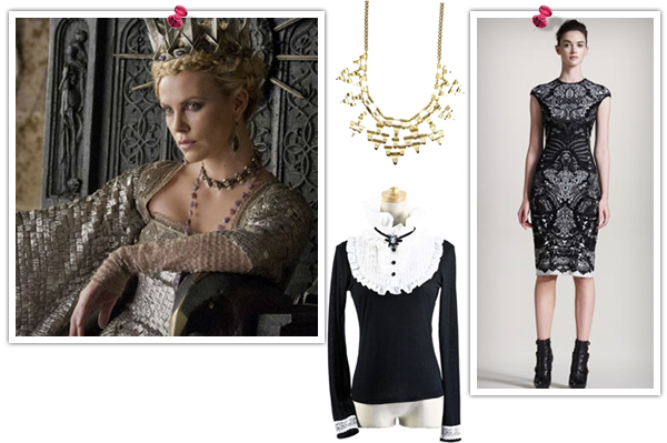 Evil Queen-inspired fashion