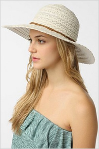 Hat: Pins and Needles crochet floppy hat