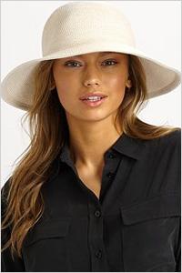 Hat: Eric Javits floppy hat