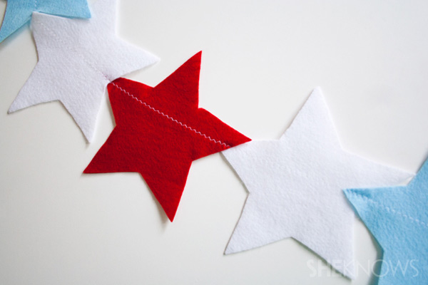 Easy-to-make patriotic banner